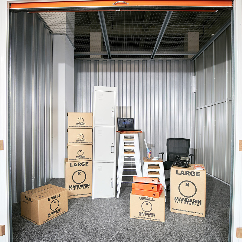 Large Business Storage Room