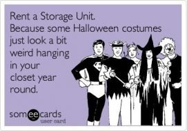 Self Storage For Halloween