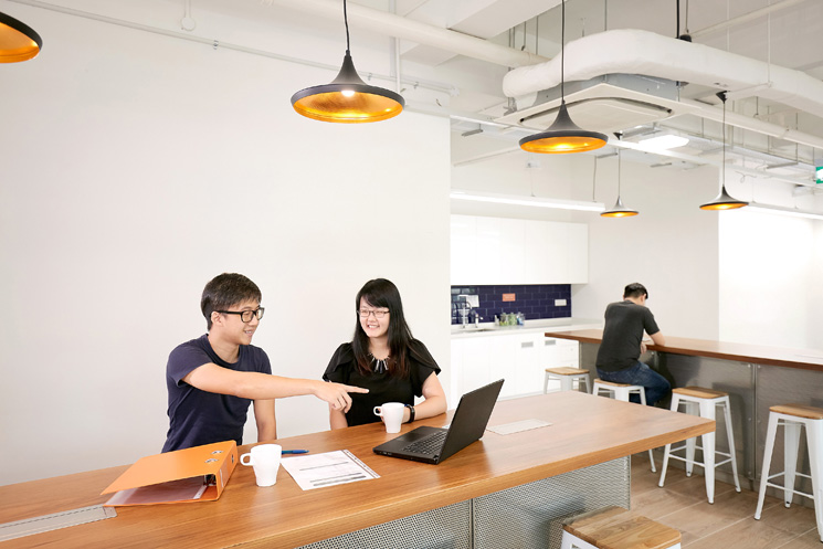 co working spaces in self storage provider