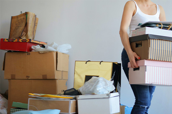 household items for self-storage